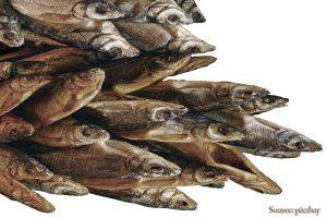 dried fish iwashi