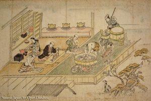 kitchen edo period