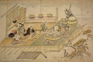kitchen edo period