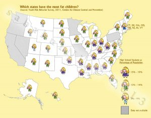 infographic childhood obesity united states
