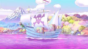 Pirate sightseeing ship