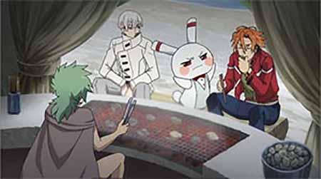 Hiroshi, Hatchi, Ikku, Robby