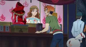 Akafuku Crystal, shop girl, Robby