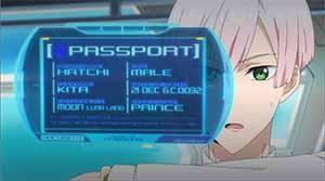 Prince Hatchi's passport