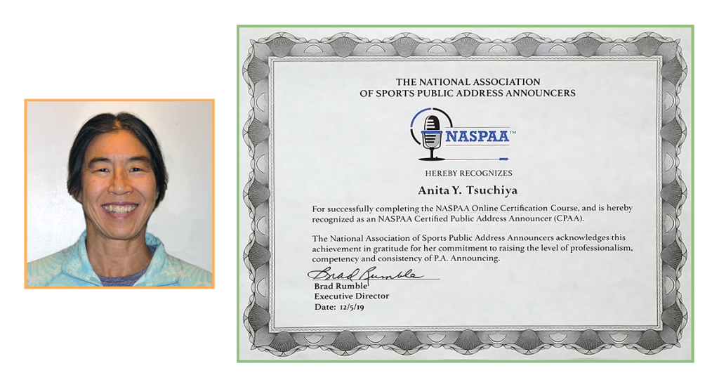Headshot and NASPAA certificate